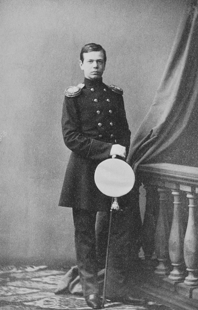 Великий князь Александр Александрович. 1861 г.