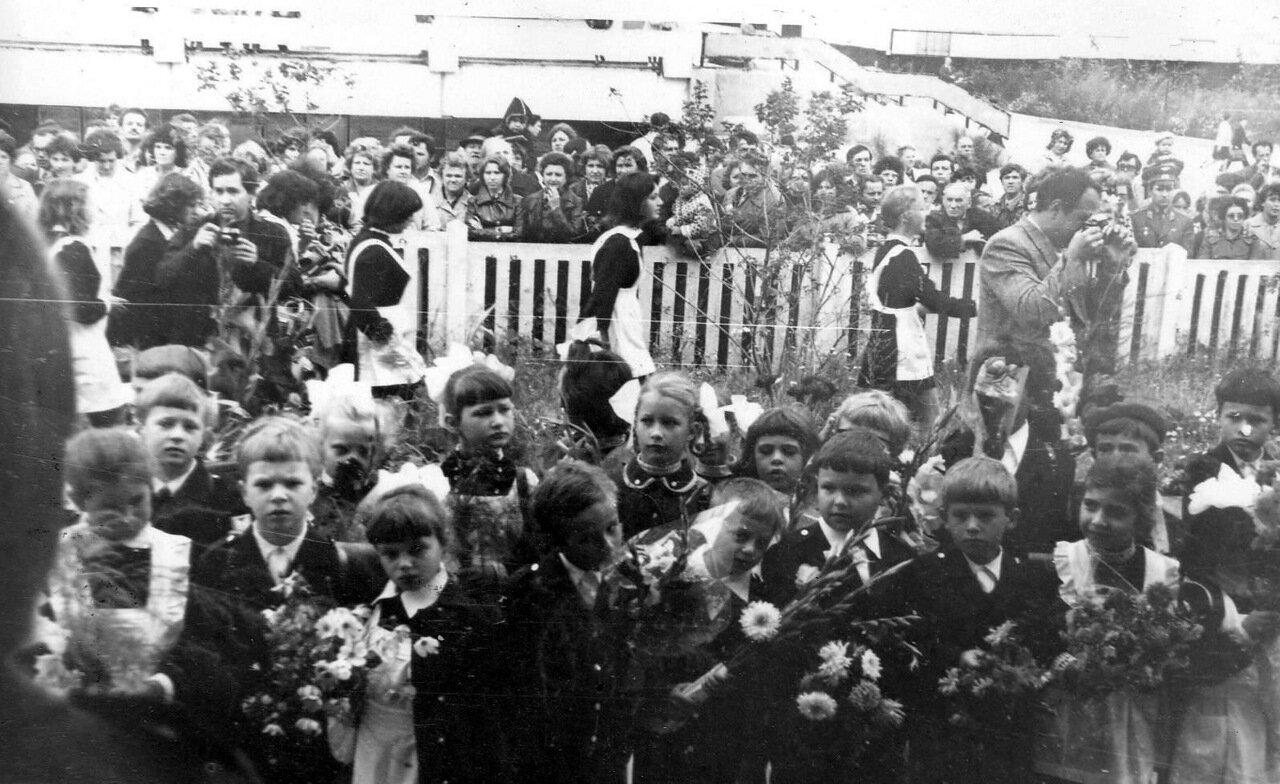 43-я школа. Первое сентября 1976 года