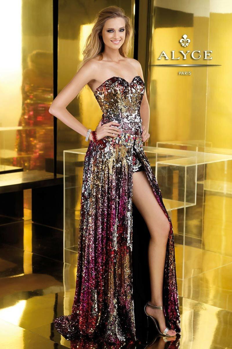 Alyce paris платья