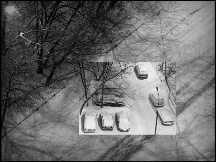 Черно-белый март.