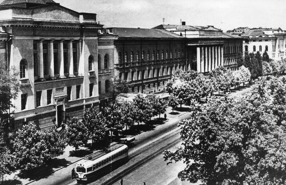 1953. Улица Владимирская