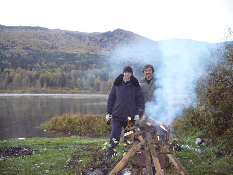 Как мы в первый раз отправились в горы Алтая