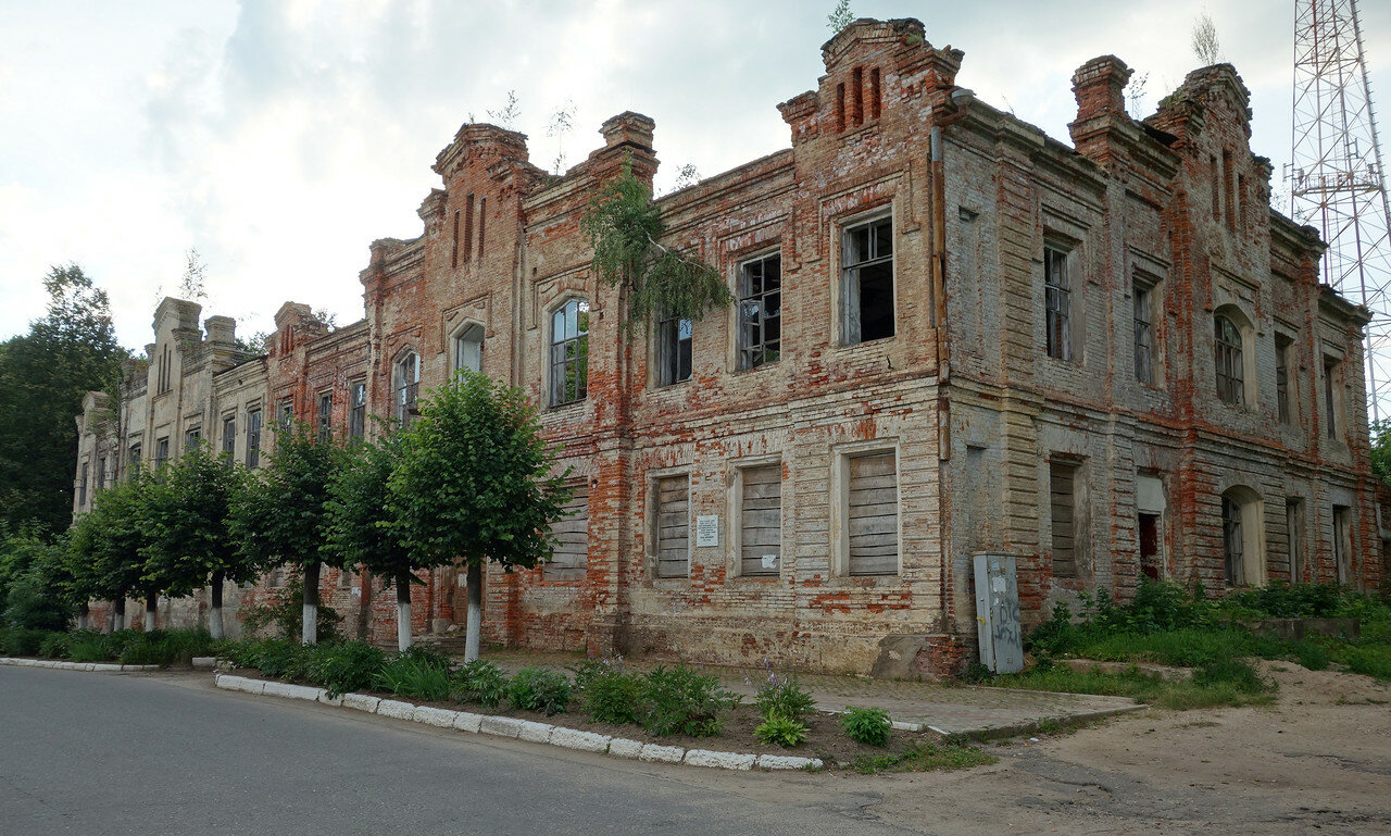 здание бывшей гимназии