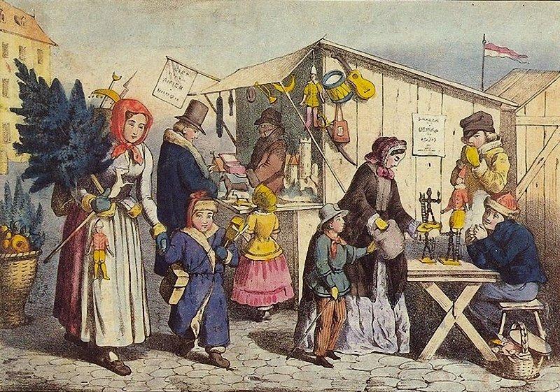 Немецкие открытки 19 века