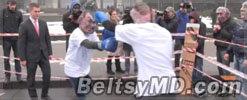 Филя и Плахиш приняли участие в боксёрском поединке