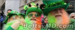 Америка и Ирландия отмечает День Святого Патрика