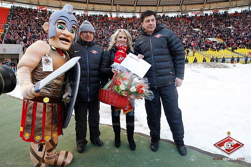 Гладиатор, Федор Черенков, Татьяна и Ринат Дасаев