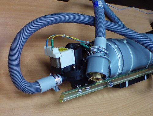 система сброса конденсата с обратным клапаном.
