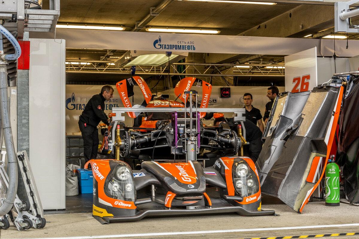 Ligier LS P2 российской команды G-Drive Racing