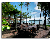 Малайзия. Лангкави. The Frangipani Langkawi Resort & Spa. Mentari-Deck
