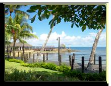 Сейшелы. О. Маэ. Le Meridien Fisherman's Cove. Beach Front Promenade