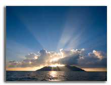 Сейшелы.  Silhouette Island. Фото Alexey Stiop - Depositphotos