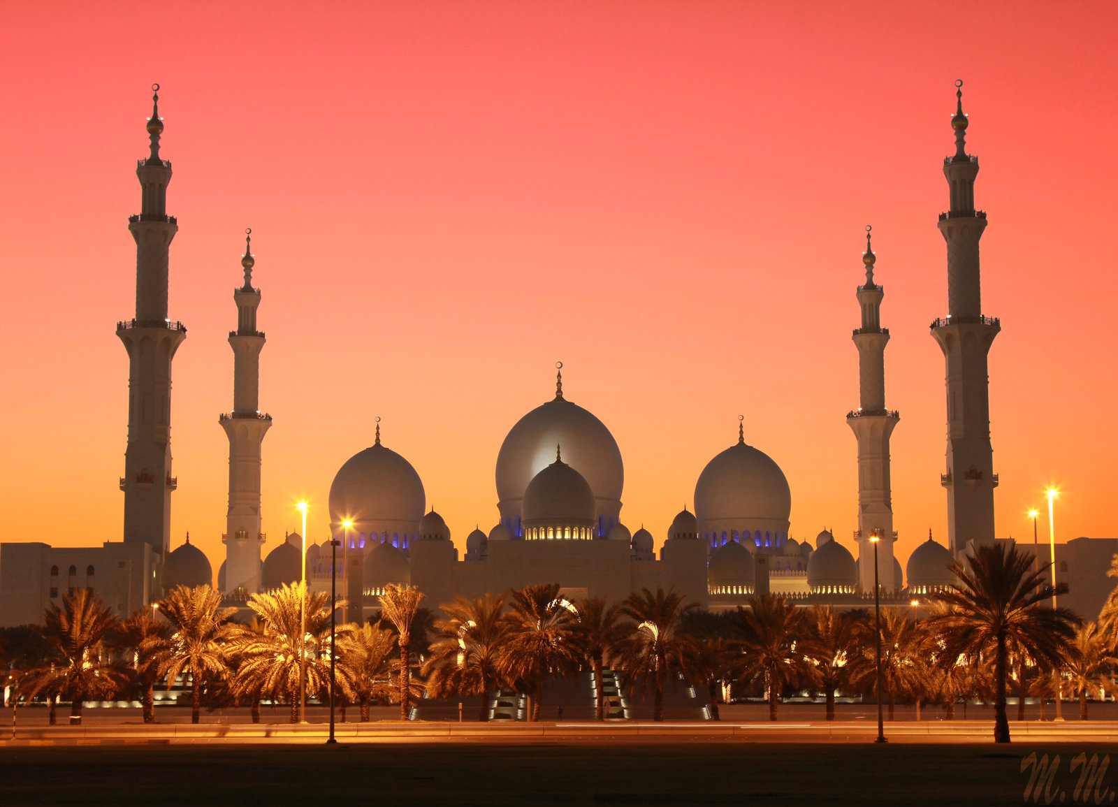 """Оригинал схемы вышивки  """"Красивая мечеть!"""