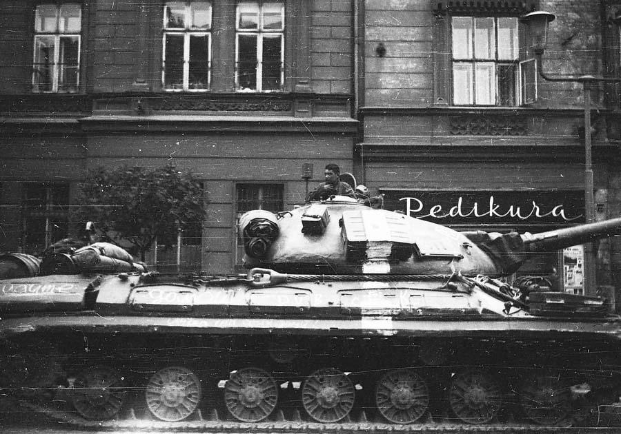 События 1968 года в чехословакии прага
