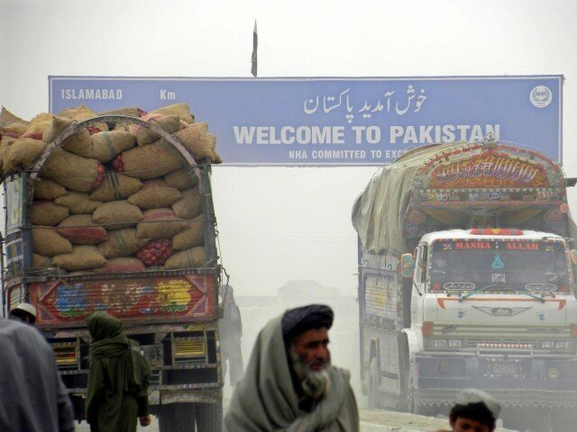 Транзит через пакистан