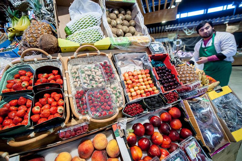Известный рынок Петровский: купить Фермерские продукты