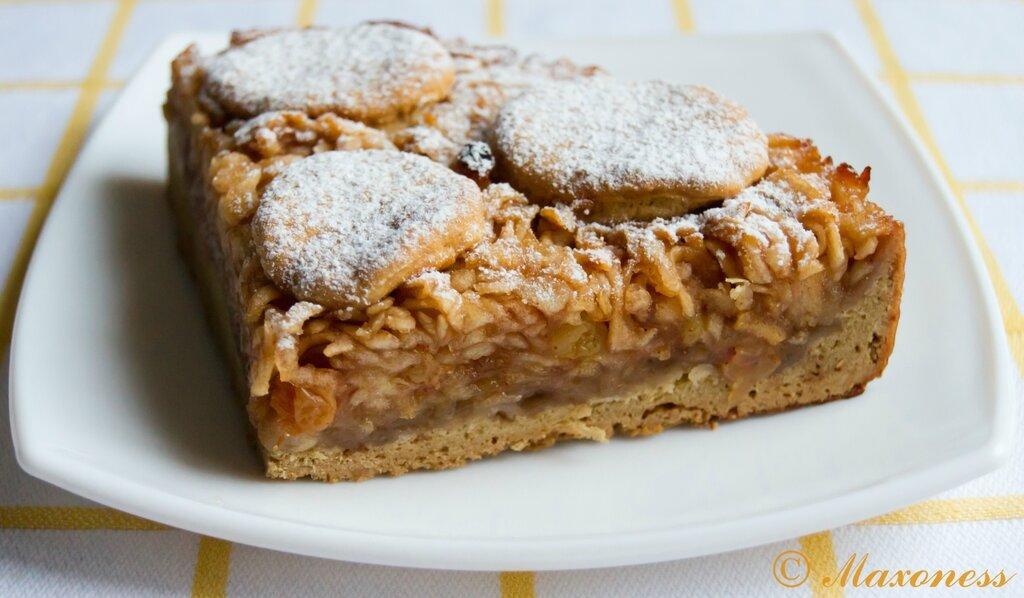 Берлинский яблочный пирог. Немецкая кухня