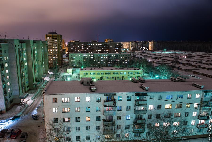 вечерний город саров