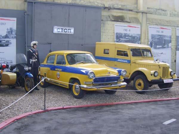 автомобили ГАИ
