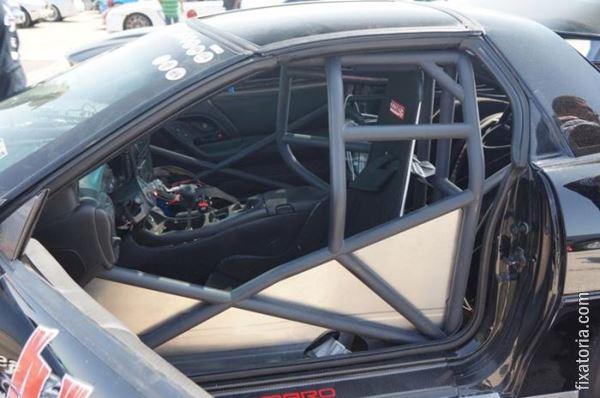 Автомобиль после страшного столкновения Фотографии