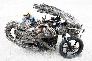 Чужой мотоцикл