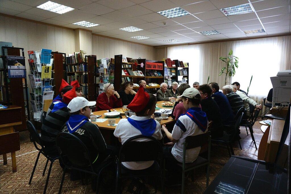 В центральной библиотеке прошло мероприятие «За веру и Отечество»