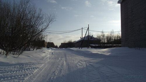 Фотография Инты №3786  Вид в южном направлении от северо-восточного угла Чернова 8 19.02.2013_13:00