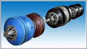 Снаряд-дефектоскоп для внутритрубной диагностики магистральных трубопроводов