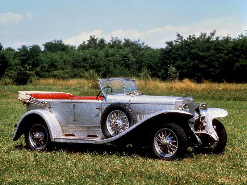 Alfa-Romeo-RL-SS-Torpedo-by-Castagna-1925 - 1927