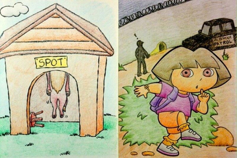 Милые книжки-раскраски, которые уничтожили наше детство