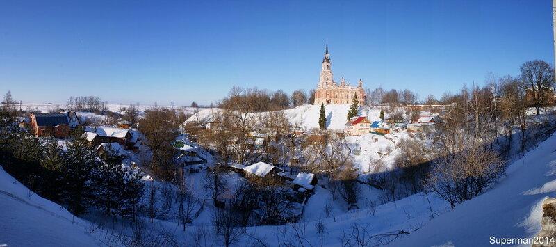 Можайский кремль (Ново-Никольский собор)