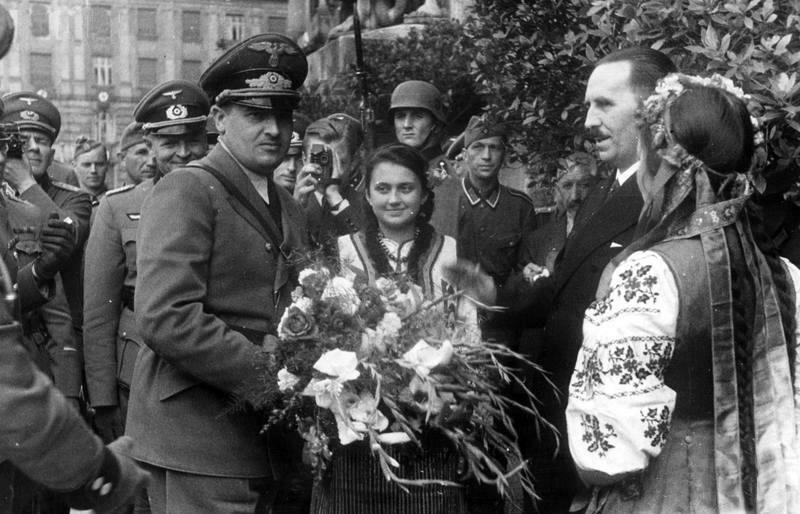 Визит губернатора Ганса Франка в Львов