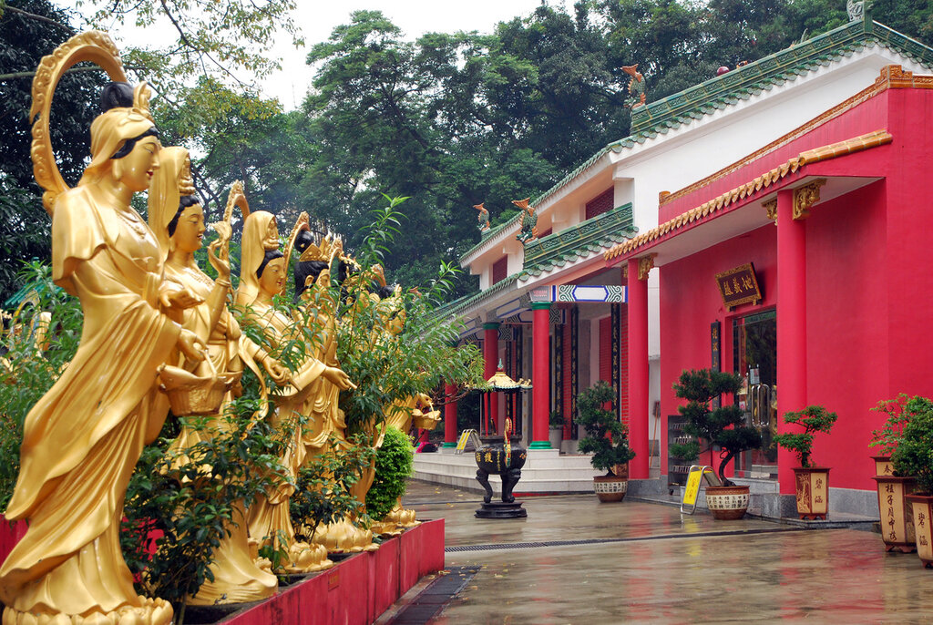 Монастырь 1000 Будд
