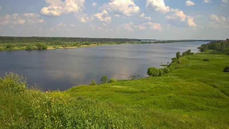 Волга, Городня