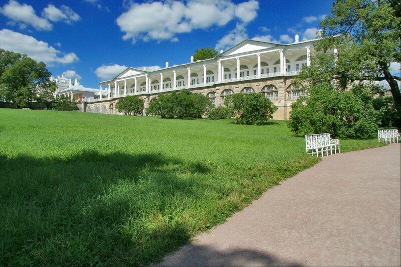 Царское Село, Камеронова галерея в Екатерининском парке
