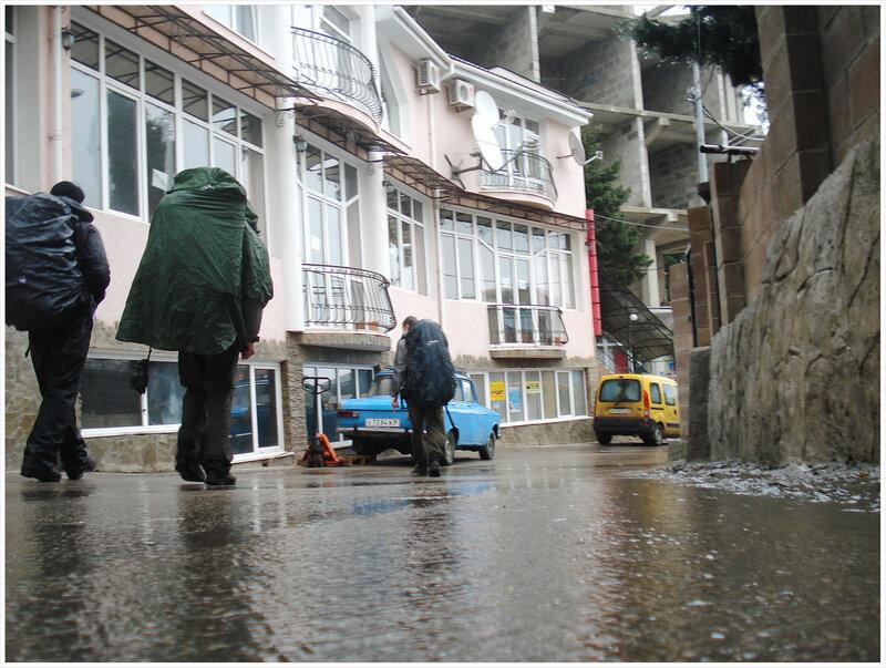 Дождь и море
