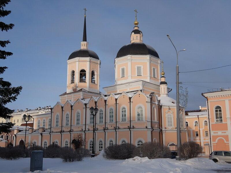 Томск - Богоявленский собор