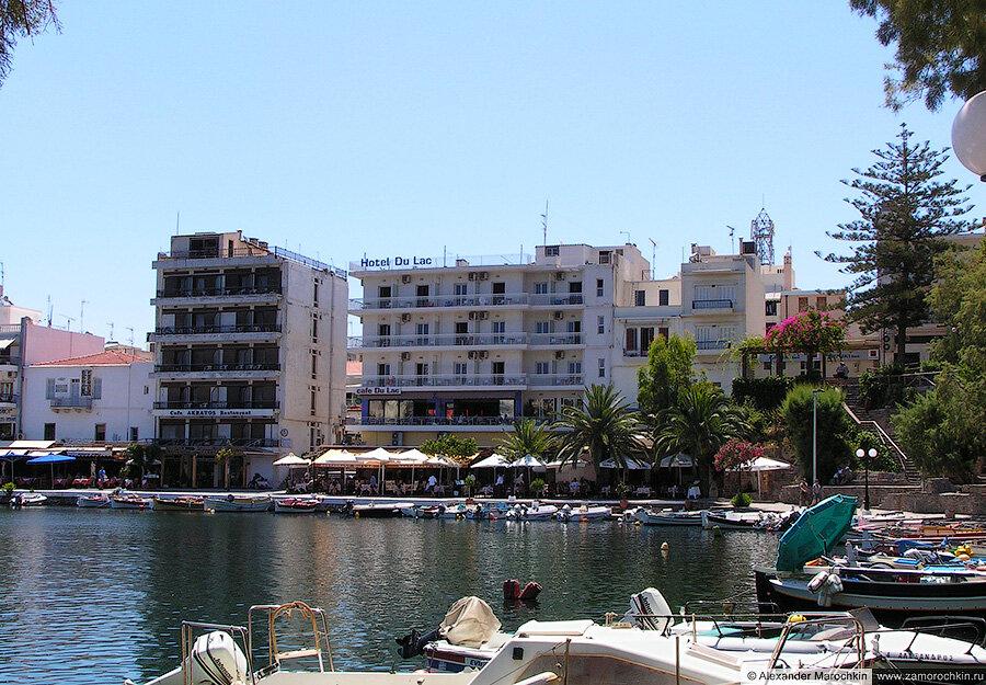 Отель Du Lac в Агиос Николаосе