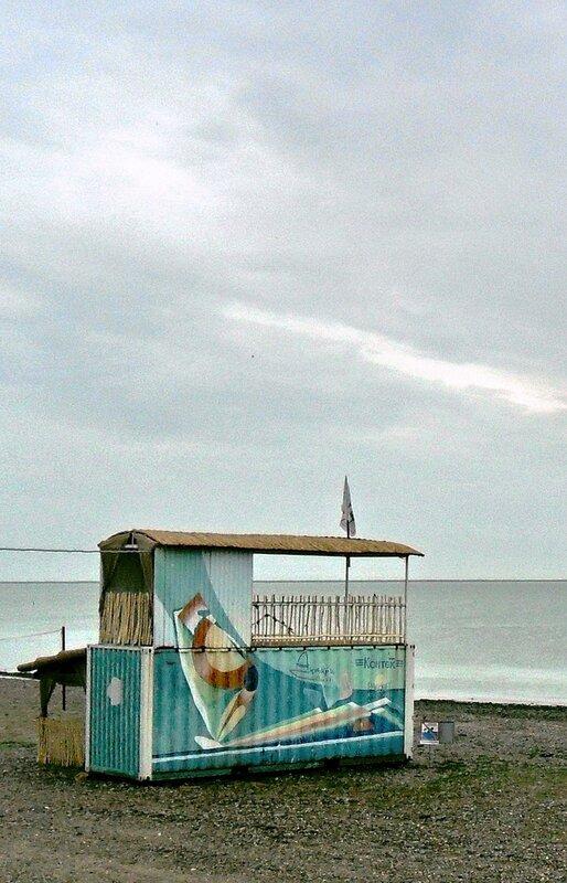 В июле, у моря