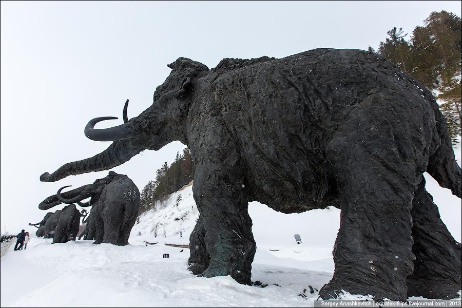 Археопарк в ХАнты-Мансийске