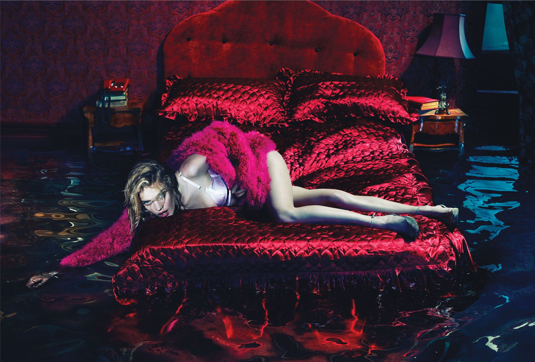Наталья Водянова / Natalia Vodianova by Mert and Marcus in W Magazine december 2012