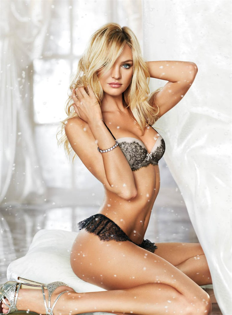 Candice Swanepoel - Victorias Secret - нижнее белье к празднику
