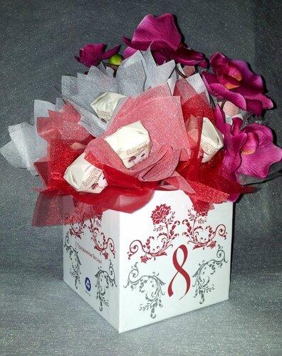 Коробка для корпоративного подарка