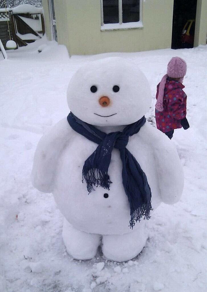 Добрый Снеговичок