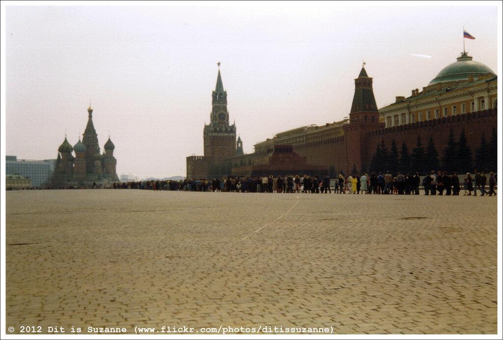 Москва, апрель 1993 года. Кто последний в Мавзолей?
