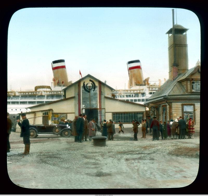 Санкт-Петербург. Круизное судно «Reliance» в порту
