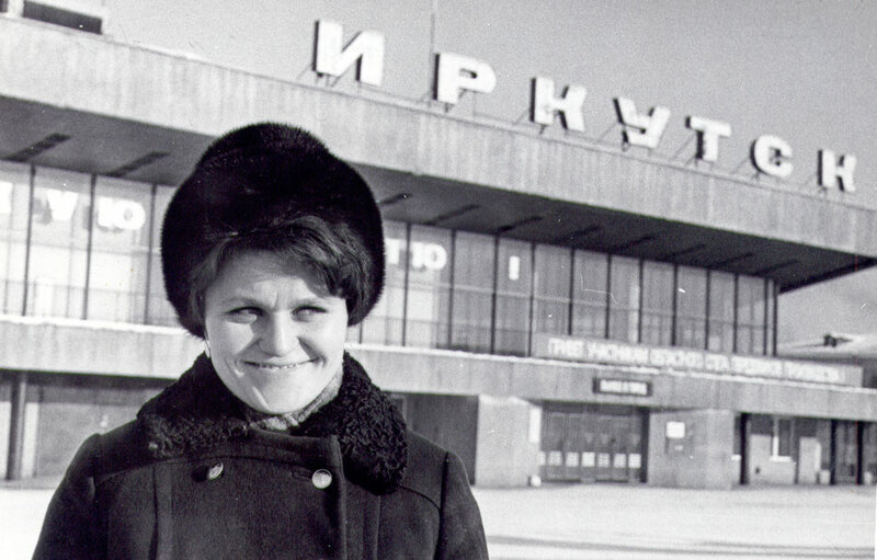 Аэропорт Иркутска. 1990-е годы