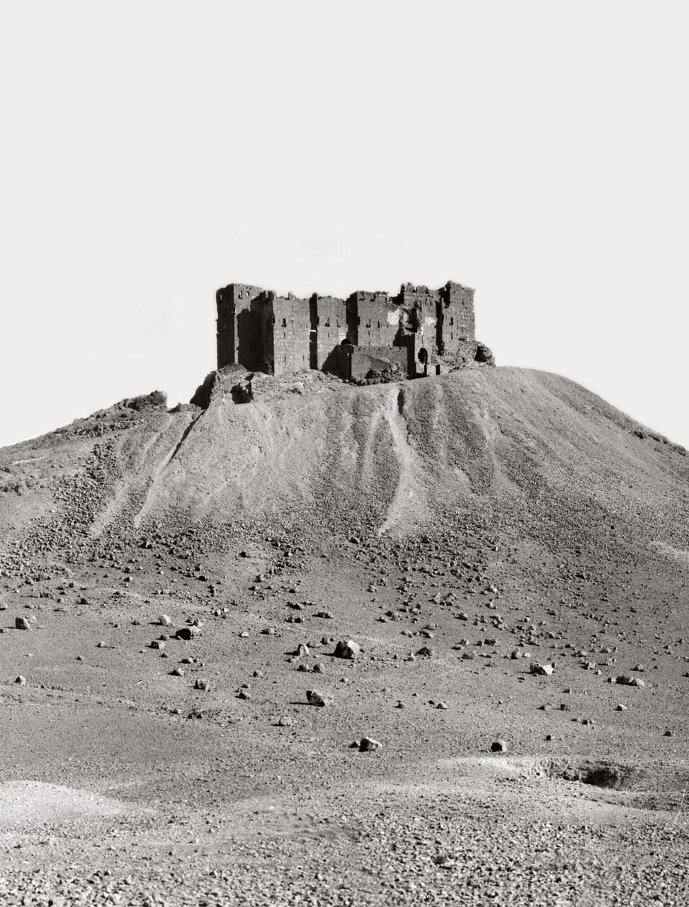 Турецкая крепость. Пальмира. Тадмор, Сирия. 1900-1920 гг.