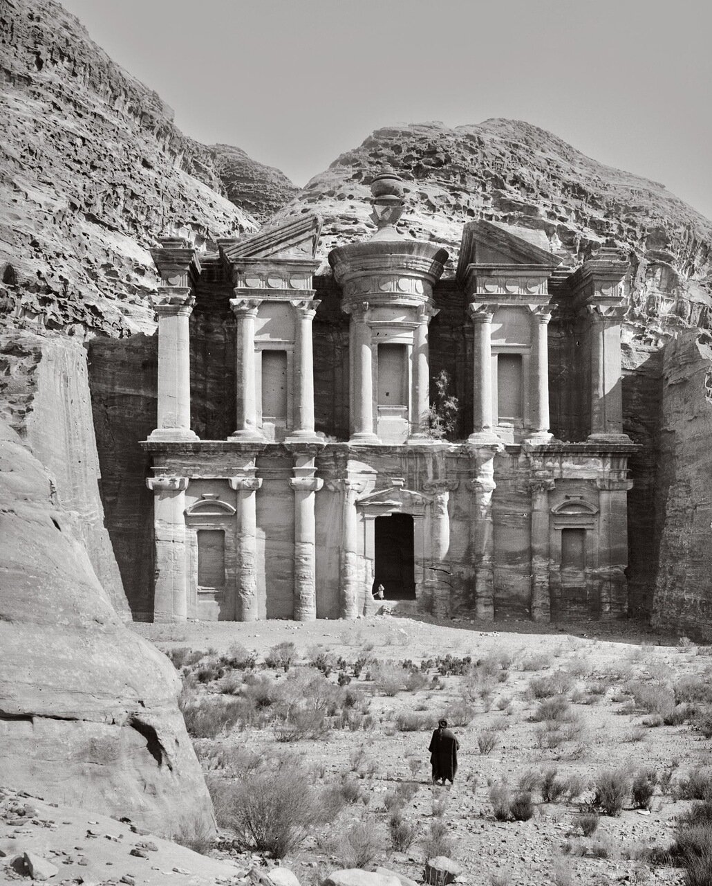 Петра в Трансиордании. Храм Эд-Дейр. 1900-1920 гг