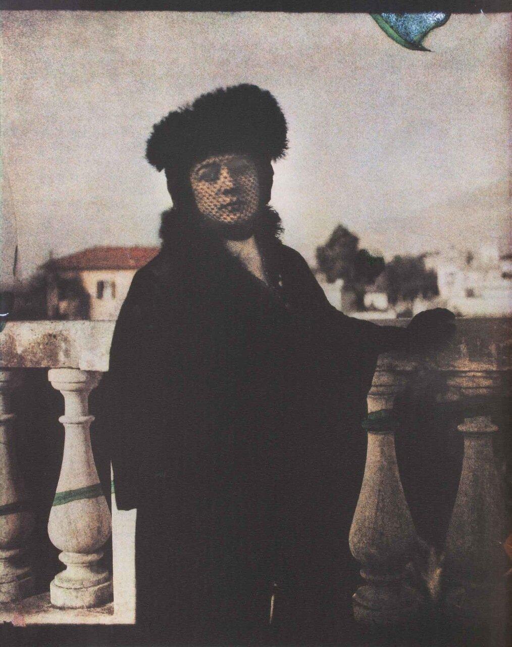 Анна Андреева в Риме, 1914 г.